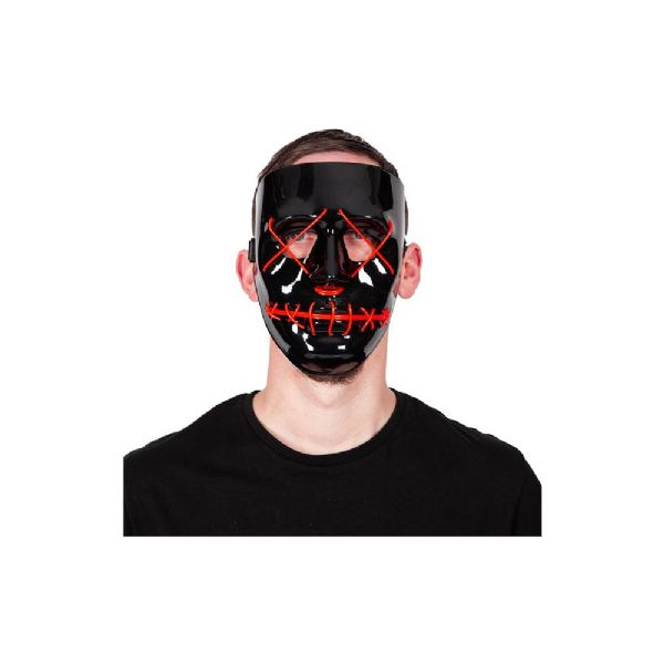 E.L Light Up Mask - RED